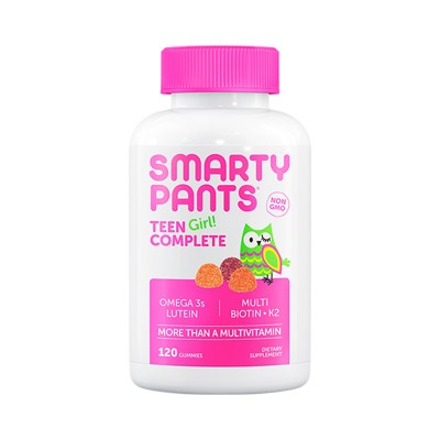 Smarty Pants Vitamins Teen Girl Complete (120 gummies)