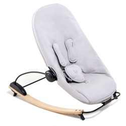 Bloom Coco Go Seat Pad - Frost Grey Organic (Seat Pad Only)