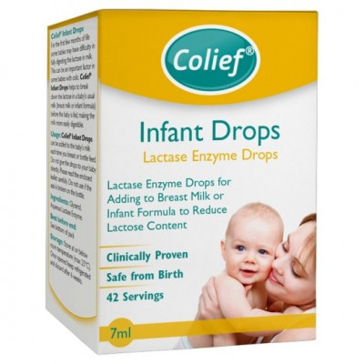 Colief Infant Drops - Lactase Enzyme Drops 7ml