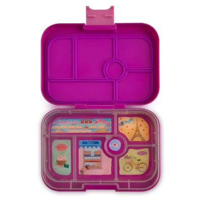 Yumbox Original - 6 compartment - Bijoux Purple, Paris