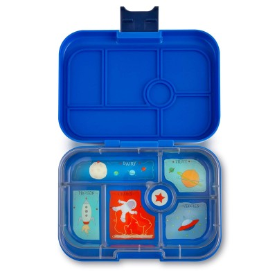Yumbox Original - 6 compartment - Neptune Blue, Space