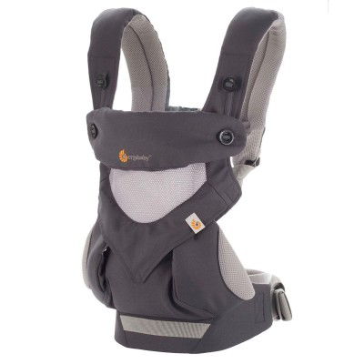 Ergobaby All Position 360 Baby Carrier - Cool Air Mesh - Carbon Grey