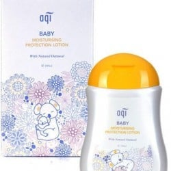 AQI Baby Moisturising Protection Lotion - with Natural Oatmeal 200ml