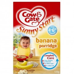 Cow & Gate Banana Porridge 125g (4 mont..