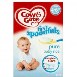 Cow & Gate Pure Baby Rice 100g (4 month..