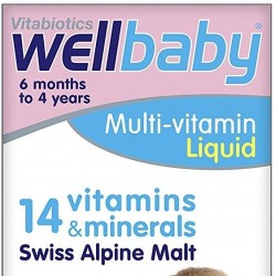Vitabiotics Wellbaby Infant Liquid 150ml
