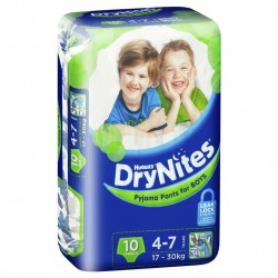 Huggies Drynites - For boys 4-7 (10pk)