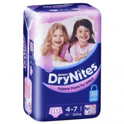 Huggies Drynites - For girls 4-7 (10pk)